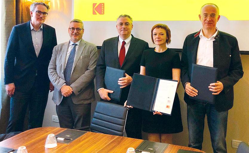 """Укрепление сотрудничества между """"Парето-Принт"""", Kodak и NCL"""