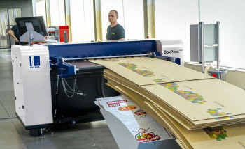Kolbus Autobox разработала планшетный струйник BoxPrint BP500 для малотиражной печати на гофрокартоне