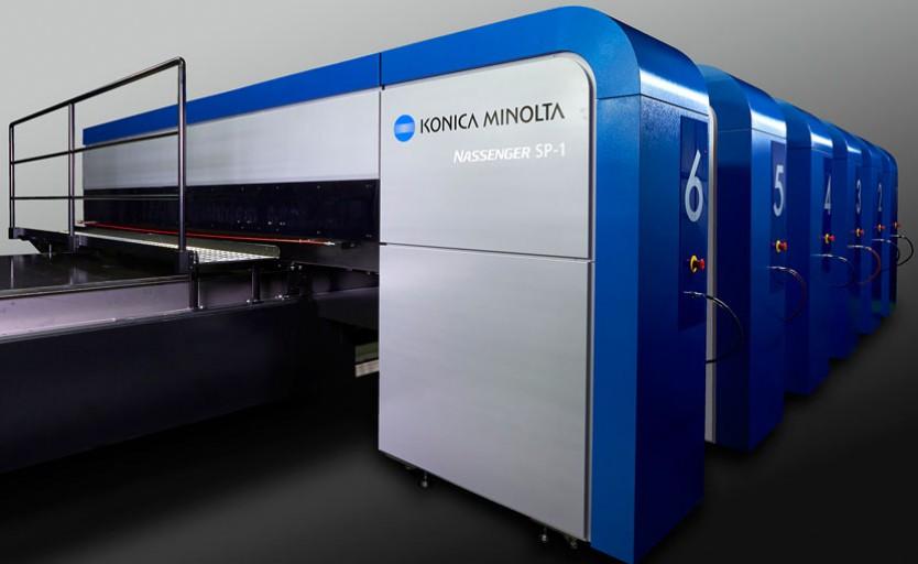 Промышленный текстильный принтерKonica Minolta Nassenger SP-1