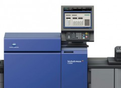 Konica Minolta bizhub PRESS C1085 установлена в типографии «ПринтЭкспресс»