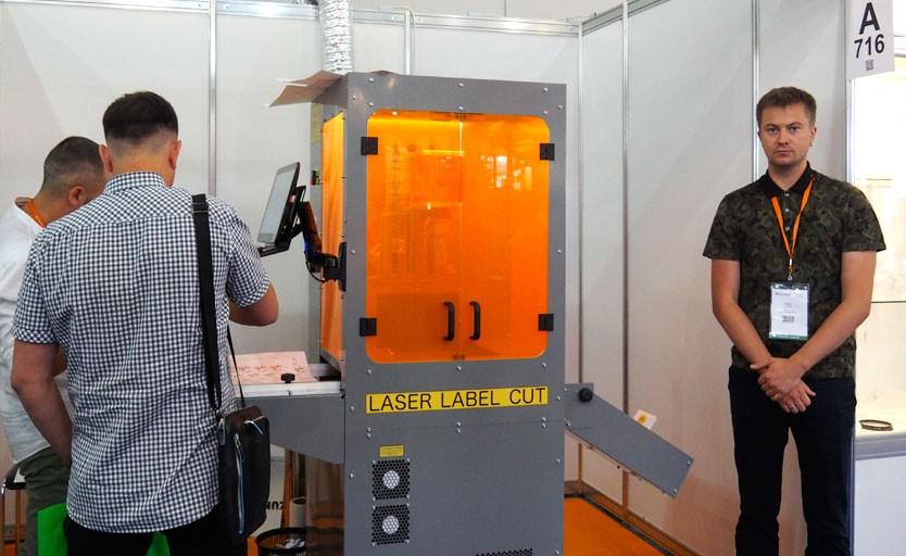На выставке Printech 2018 демонстрируется лазерная высечка российского производства