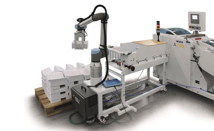 MBO представила робота для фальцмашин