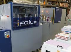 MGI JETvarnish 3DS & iFoil S от Konica Minolta на производстве типографии MDMprint