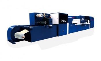 MGI JETvarnish 3D Web Color печатает и выполняет отделку за один проход