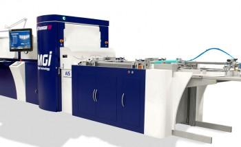В Т8 запущена струйная лакированная машина MGI JETvarnish 3D