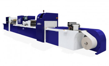 MGI покажет на Labelexpo Europe 2019 цифровую печатно-отделочную линию JETvarnish 3D Web Color+