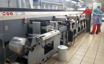 На Фабрике упаковки «МИЛК» запущена вторая флексомашина MPS