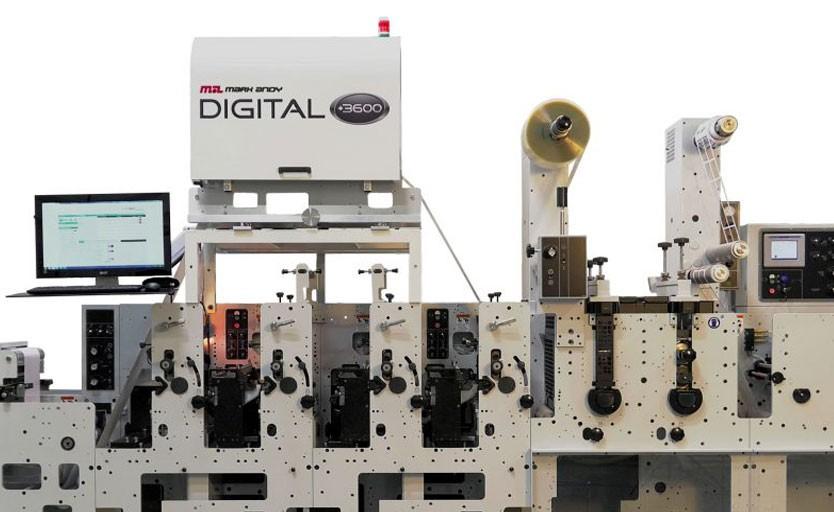 Так выглядит другой модуль – Digital Plus 3600 – на флексомашине Mark Andy