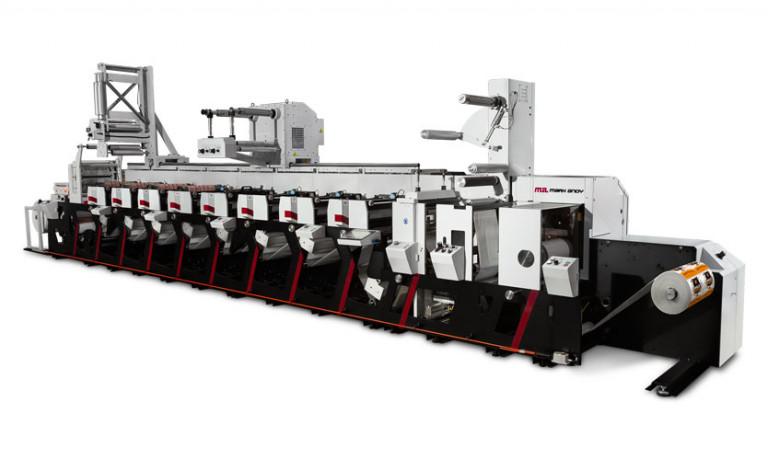 Mark Andy анонсирует новую линейку флексографских печатных машин Evolution