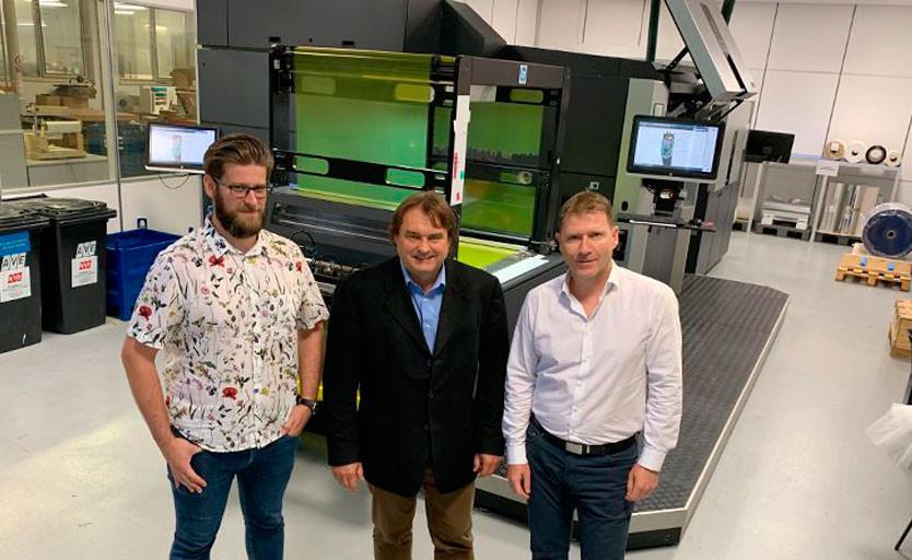 В Чехии заработала первая в Европе HP Indigo Digital Pouch Factory