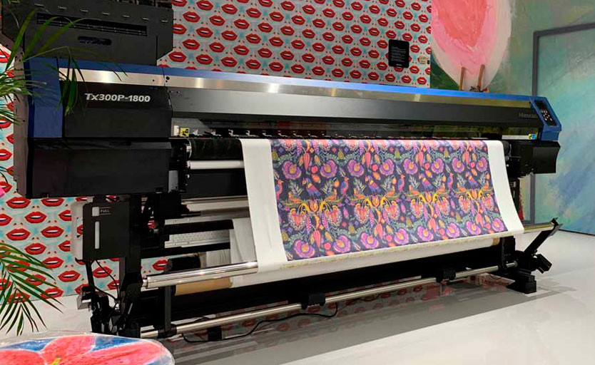 Mimaki TX300P-1800 теперь может печатать и на бумаге, и на текстиле
