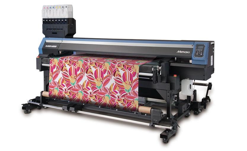 Текстильный принтер Mimaki Tx300P-1800 с гибридной красочной системой