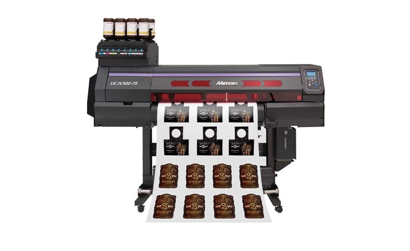 Широкоформатный принтер-каттер Mimaki UCJV300-75 шириной 0,8 м