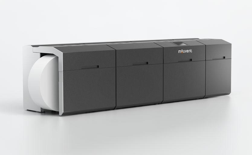 Рулонная цифровая машина LB702-UV, предназначенная для печати этикеточной продукции