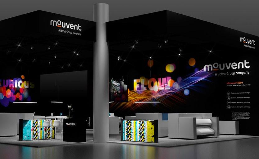 Mouvent представила на ITMA 2019 новый текстильный принтер TX802