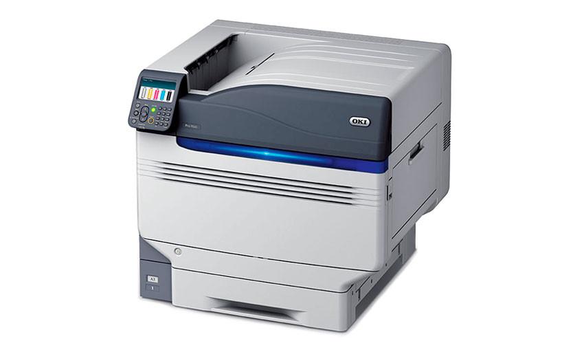 OKI Pro9541WT – новый принтер формата А3+ с белилами для термопереноса