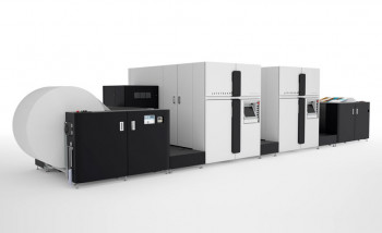 Струйная машина для печати книг Océ JetStream Graphira