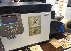 OKI Pro1040/1050: как напечатать этикетку, не выходя из офиса?