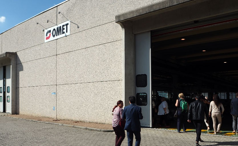 Один из цехов завода Omet в г. Лекко