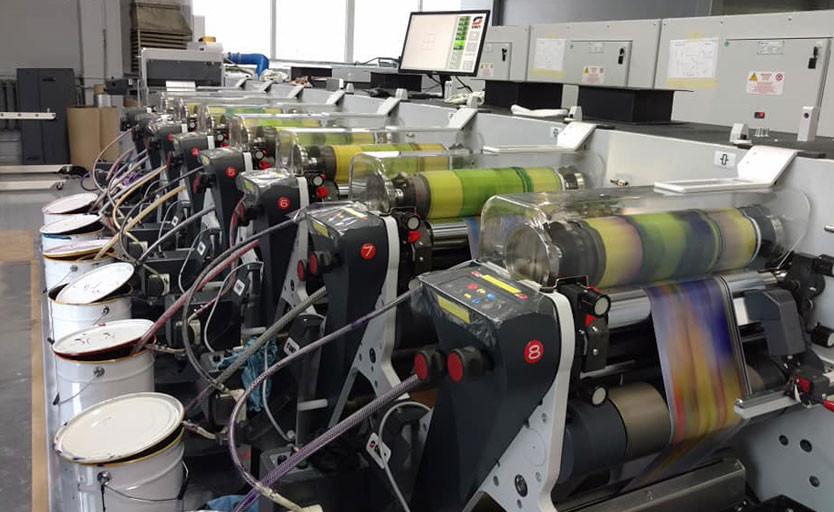 Флексомашина Omet запущена на Дмитровском заводе гибкой упаковки