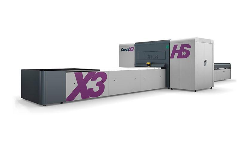 Промышленный планшетный УФ-принтер Onset X HS