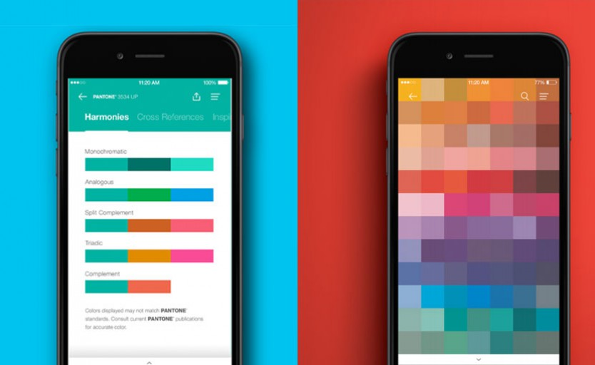 Pantone запускает мобильное приложение для iOS