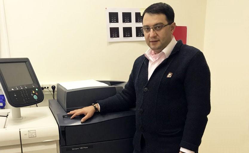 """Эмиль Закарян, генеральный директор типографии """"Печатное дело"""""""