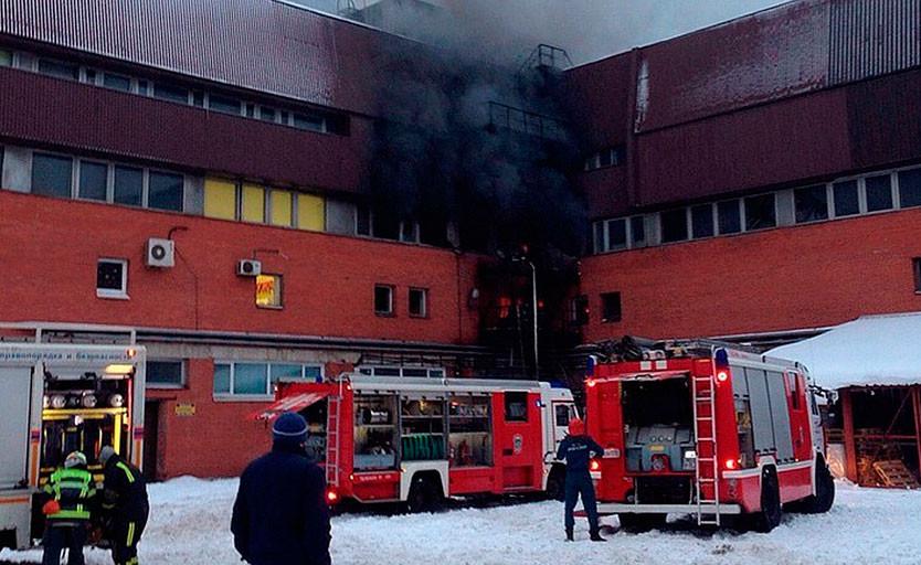 СК назвал причину пожара в Санкт-Петербургском газетном комплексе