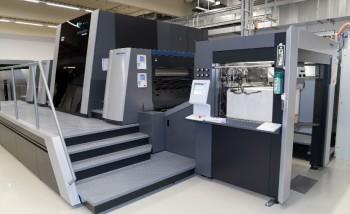 Струйная машина формата В1 Heidelberg Primefire 106 в немецкой типографии Multi Packaging Solutions
