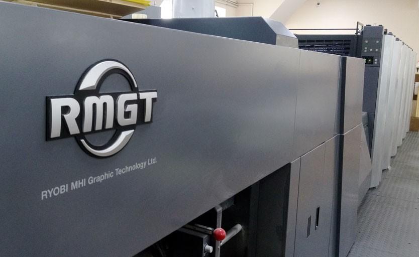 Листовая офсетная печатная машина RMGT 920ST-5