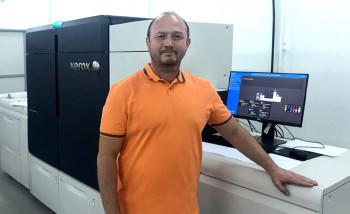 В типографии «Радуга» запущена цифровая печатная машина Xerox Iridesse Production Press