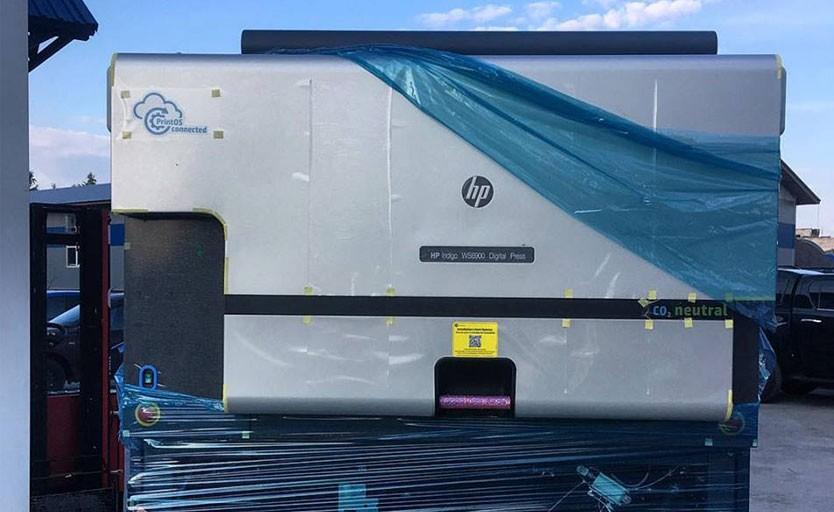 """В типографии «Ремас"""" запускают первую в России рулонную ЦПМ HP Indigo 6900 Digital Press"""