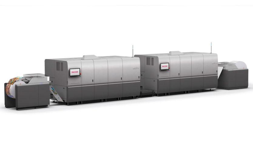 Рулонная струйная печатная машина Ricoh Pro VC70000