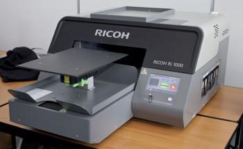 Принтер Ricoh Ri 1000 в шоу-руме Ricoh Rus
