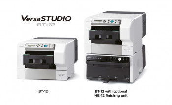 Roland DG заявила струйные принтеры VersaSTUDIO BT-12, предназначенные для печати на одежде