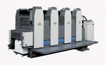 Офсетная печатная машина Ryobi 524GX инсталлирована в типографии «Астер»