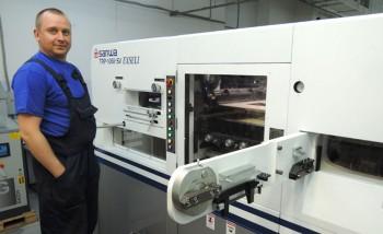 Успешный запуск SANWA TRP-1060SV EXSELI в Московском Центре Упаковки