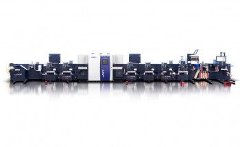 Rotocontrol и Screen представили гибридную печатно-отделочную линию для производства этикетки