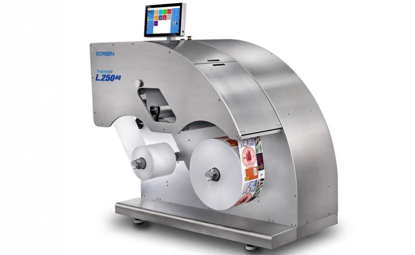Цифровая машина для печати этикетной продукции Screen Truepress Jet L250AQ