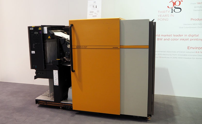 Лазерный принтер Siemens ND 3, выпущенный в 1983 году