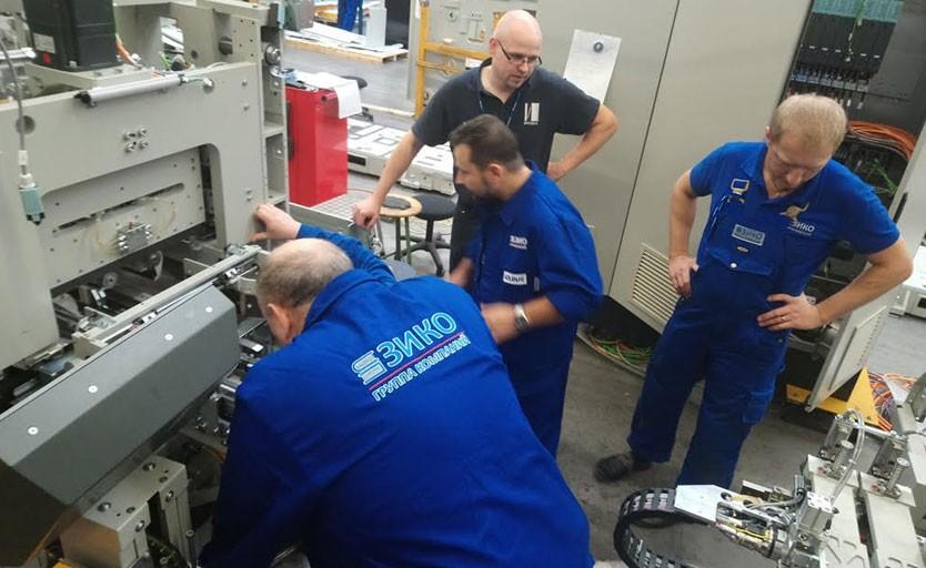 Обучение сервисных инженеров на заводах: KOLBUS, ETERNA и DONGFANG