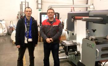 В «Спекта Интерпак» установлен комплекс Grafotronic DCL2 для послепечатной обработки рулонных материалов