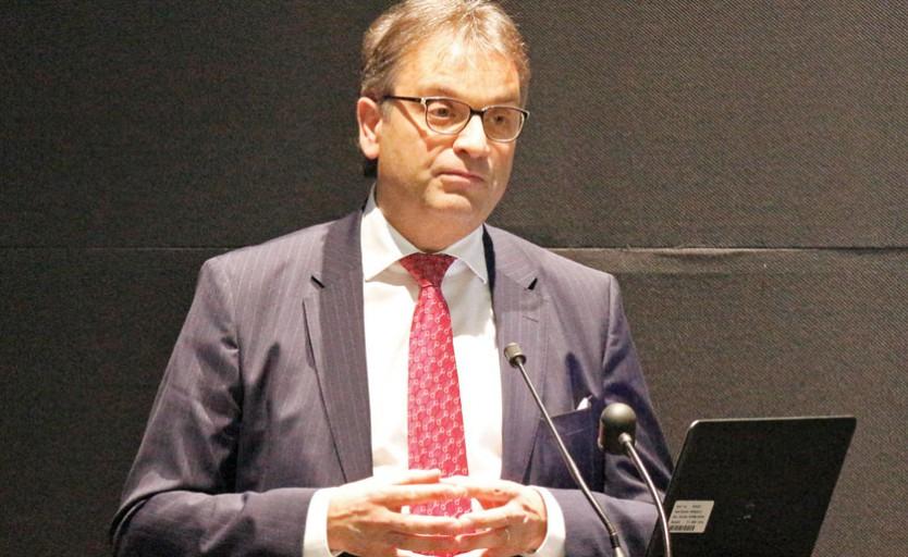 Президент Agfa Graphics Стефан Ванхорен (Stefaan Vanhooren)