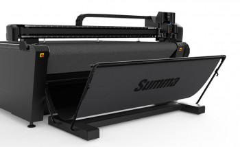 Summa разработала новые планшетные режущие плоттеры шириной 3,2 м
