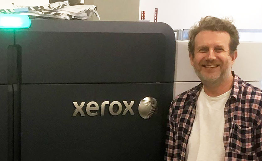 Типография «Технологии рекламы» запустила Xerox Iridesse Production Press