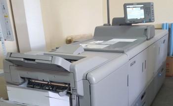 HeidelbergVersafire CM (Ricoh PRO 8110 E) используется в «Фебри» для нанесения персонализированных данных на продукцию, отпечатанную офсетным способом