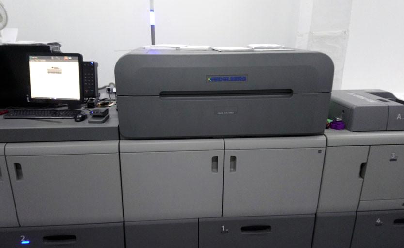 В типографии «ИНТ» запущена цифровая печатная машина Heidelberg Versafire EP