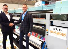 Компания WeR.SIGNS приобрела пятиметровый УФ-принтер Fujifilm