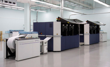 Рулонная струйная печатная машина Xerox Impika Evolution в Смоленском полиграфическом комбинате