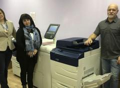 В типографии «Полисфера» установлена ЦПМ Xerox Color C70